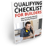 qualifying checklist for builders ebook